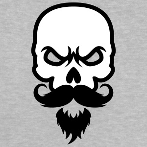 Skull with beard Baby Shirts  - Baby T-Shirt
