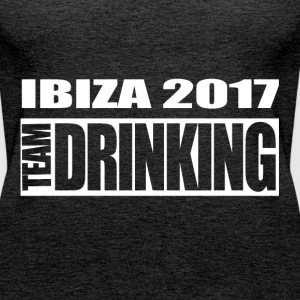 Ibiza - Team Drinking - Frauen Premium Tank Top
