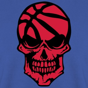 basketball tete de mort logo sport skull Sweat-shirts - Sweat-shirt Homme