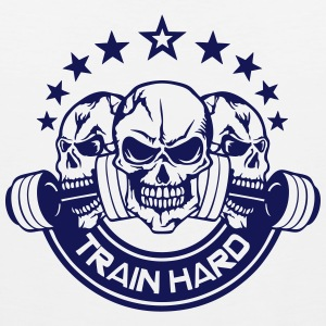 train hard citation musculation mort  Vêtements de sport - Débardeur Premium Homme