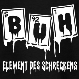 Halloween Buh Element Des Schreckens - Teenager T-Shirt