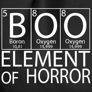Halloween Boo Element of Horror - Turnbeutel