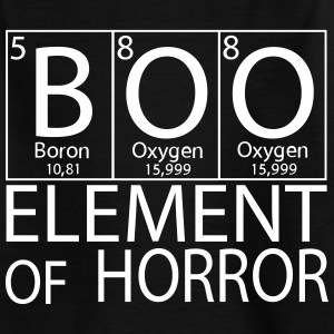 Halloween Boo Element of Horror - Teenager T-Shirt