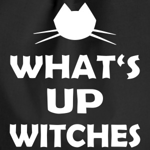 Halloween Spruch What's Up Witches - Turnbeutel