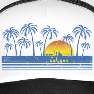 Cologne Retro Kappe - Trucker Cap