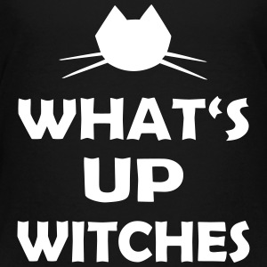 Halloween Spruch What's Up Witches - Teenager Premium T-Shirt
