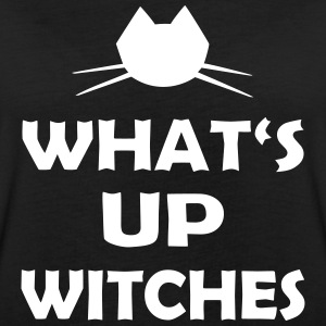 Halloween Spruch What's Up Witches - Frauen Oversize T-Shirt