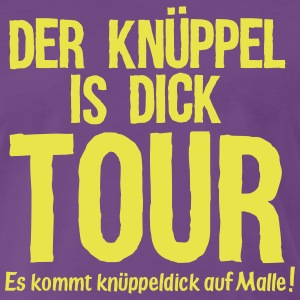 DER KÜPPEL IS DICK TOUR T-Shirts - Männer Premium T-Shirt