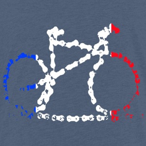 Tricolore bike chain - Kids' Premium T-Shirt