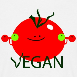 Vegan with vigor T-Shirts - Men's T-Shirt