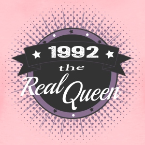 The Real Queen 1992 T-Shirts - Frauen Premium T-Shirt