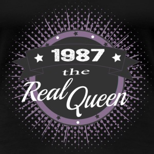 The Real Queen 1987 T-Shirts - Frauen Premium T-Shirt