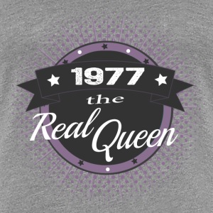 The Real Queen 1977 T-Shirts - Frauen Premium T-Shirt