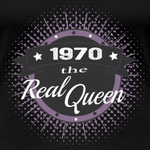 The Real Queen 1970 T-Shirts - Frauen Premium T-Shirt