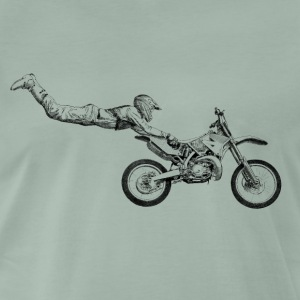 motocross freestyle T-shirts - Mannen Premium T-shirt