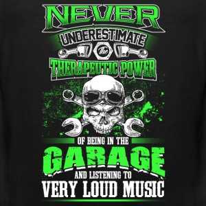 Never underestimate a mechanic - EN Sports wear - Men's Premium Tank Top
