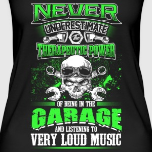Never underestimate a mechanic - EN Tops - Women's Organic Tank Top