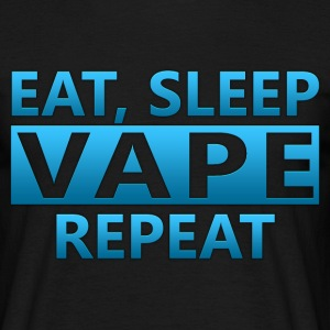 EAT-SLEEP-VAPE-REPEAT - Männer T-Shirt