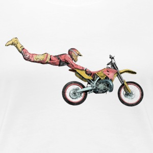 motocross freestyle T-Shirts - Frauen Premium T-Shirt