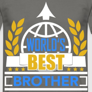 World's best Brother 3 T-Shirts - Männer T-Shirt
