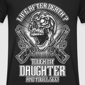 Don't touch my daughter - EN T-Shirts - Men's V-Neck T-Shirt