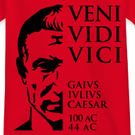 Diseño ~ Camiseta niños Cesar Veni Vidi Vici
