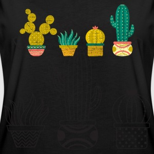 Cool Cactus Illustration Design T-Shirts - Frauen Oversize T-Shirt