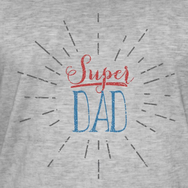 super dad // shirt Men