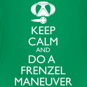 Keep Calm and do a Frenzel Maneuver Teenager T-Shi - Teenager Premium T-Shirt