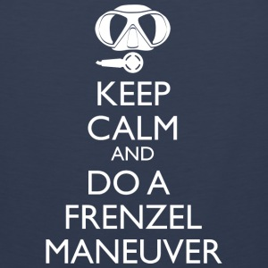 Keep Calm and do a Frenzel Maneuver Männer Tank T - Männer Premium Tank Top