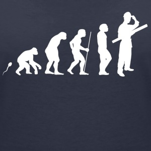 Architekt Evolution Fun Shirt T-Shirts - Frauen T-Shirt mit V-Ausschnitt