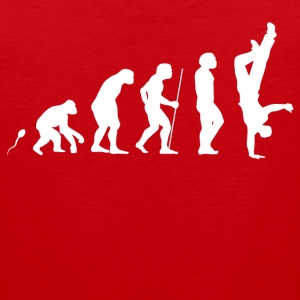 Breakdance Evolution Fun Shirt Sportbekleidung - Männer Premium Tank Top