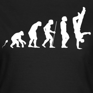 Breakdance Evolution Fun Shirt T-Shirts - Frauen T-Shirt