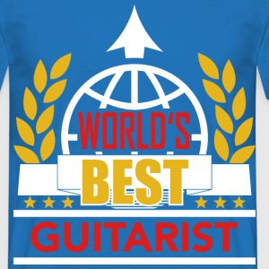 World's best Guitarist 3 T-Shirts - Männer T-Shirt