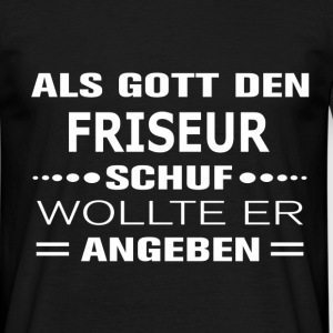 suchbegriff 39 friseur lustig 39 t shirts online bestellen spreadshirt. Black Bedroom Furniture Sets. Home Design Ideas