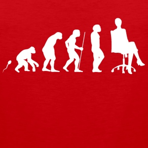 Business Chill  Evolution Fun Shirt Sportbekleidung - Männer Premium Tank Top