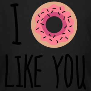 I Donut Like You! T-shirts - Mannen Bio-T-shirt