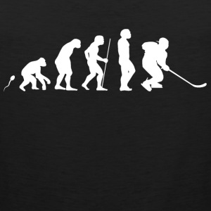 Eishockey Sport Evolution Fun Shirt Sportbekleidung - Männer Premium Tank Top