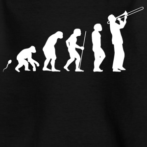 Posaune Evolution Fun Shirt T-Shirts - Teenager T-Shirt