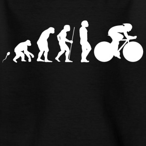 Rennrad Evolution Fun Shirt T-Shirts - Kinder T-Shirt