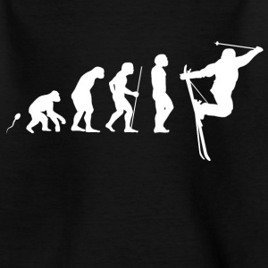 Ski Spaß Evolution Fun Shirt T-Shirts - Teenager T-Shirt