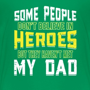 Hero Dad T-Shirts - Teenager Premium T-Shirt