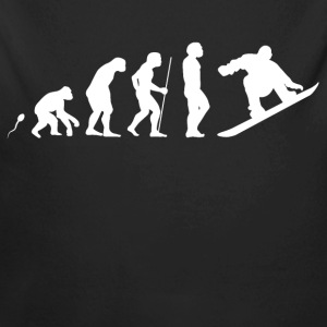 SnowboardEvolution Fun Shirt Baby Bodys - Baby Bio-Langarm-Body