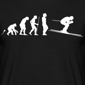Ski Evolution Fun Shirt T-Shirts - Männer T-Shirt