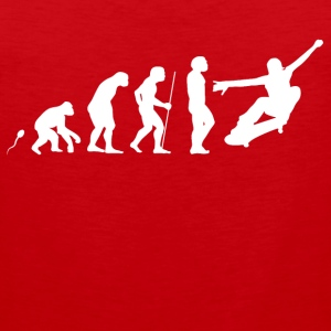 Skate Evolution Fun Shirt Sportbekleidung - Männer Premium Tank Top