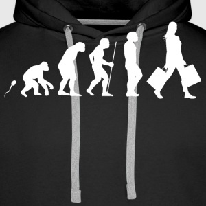 Shoppen Evolution Fun Shirt Pullover & Hoodies - Männer Premium Hoodie