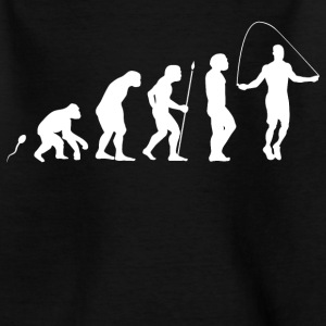 Seilspringen Evolution Fun Shirt T-Shirts - Teenager T-Shirt