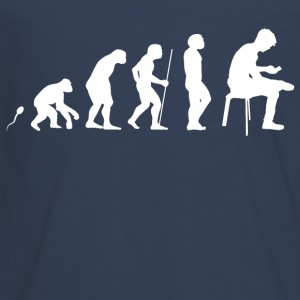 Abitur Evolution Fun Shirt Langarmshirts - Teenager Premium Langarmshirt