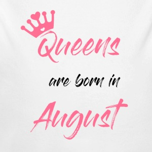 Queens are born - Baby Bio-Langarm-Body