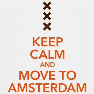 keep calm move to Amsterdam Holland Andreaskreuz - Teenager Premium T-Shirt